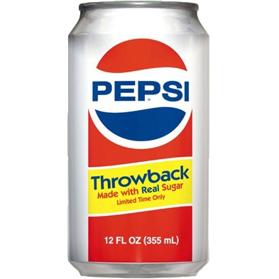 Pepsi Throwback a Definite Comeback!