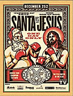 Santa vs. Jesus (Score 1:0)