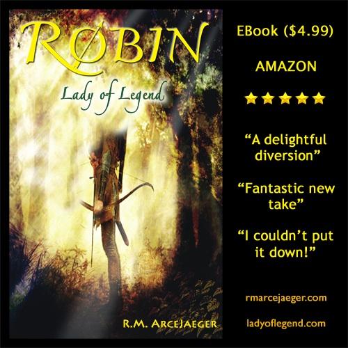 Robin Lady of Legend Cover (R.M. ArceJaeger) - Sticker 4.99 500w 72dpi