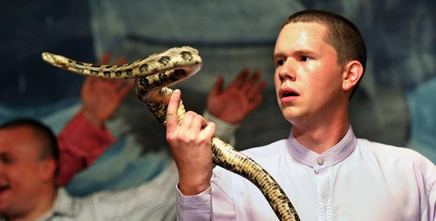 Snake Handling and Drinking Poison — A Commentary