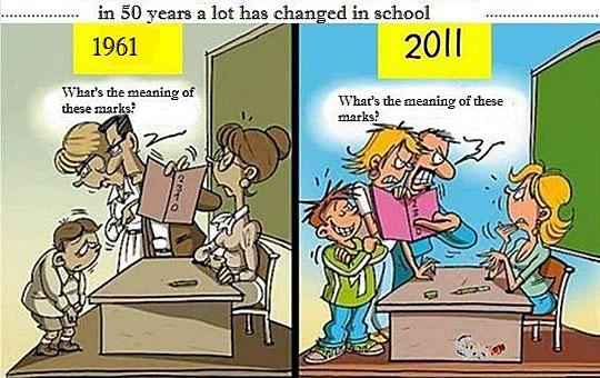 School Comic - Grades