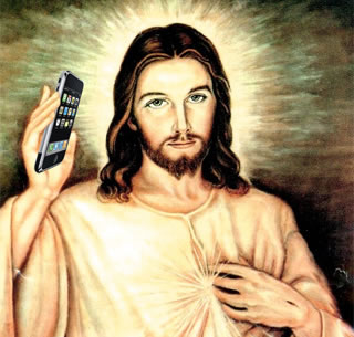 Jesus Is Our Cell Phone