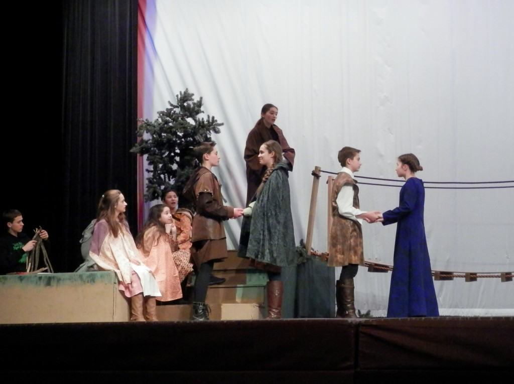 Play of Robin: Lady of Legend by R.M. ArceJaeger, Performed by Middle School South (Lake Zurich)