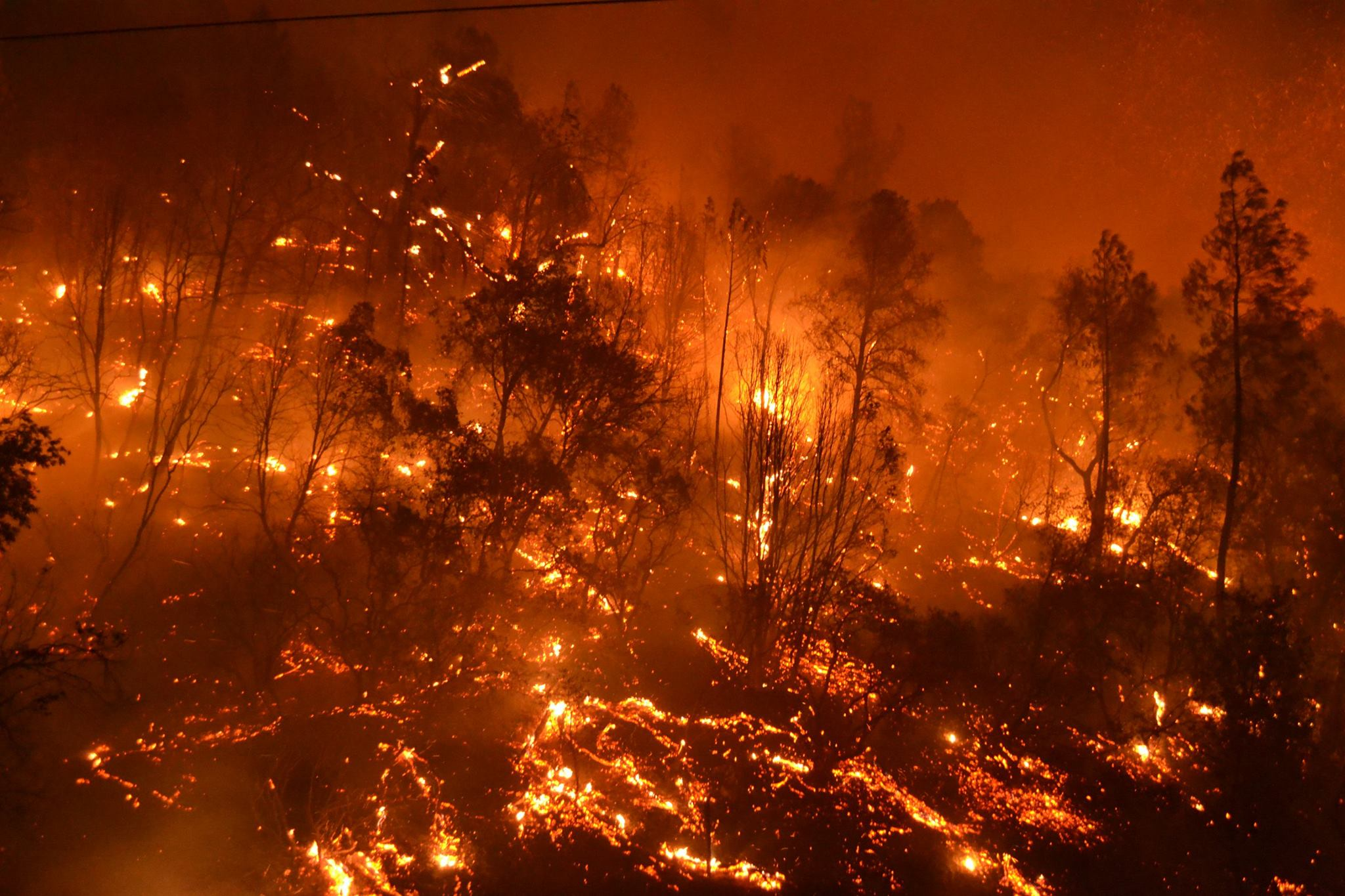 Butte Fire Destroying My Home