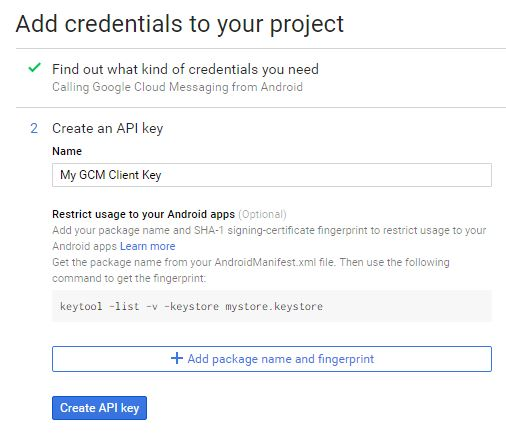Create API Credentials Part 2